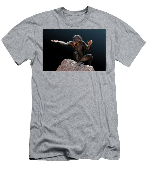 Spare Change? - Bonobo Men's T-Shirt (Athletic Fit)