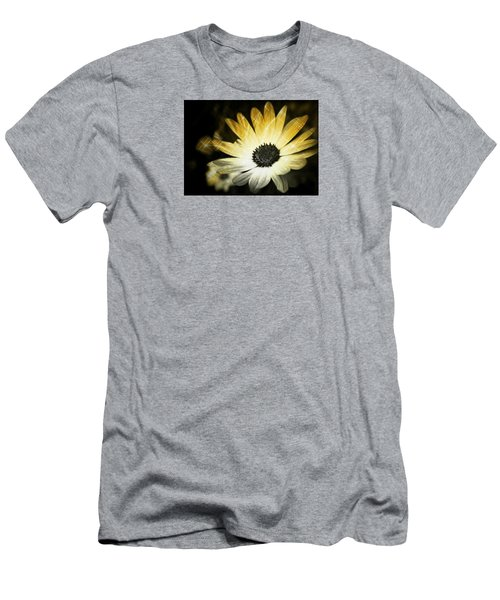 Sparkle Daisies Men's T-Shirt (Slim Fit) by Robin Regan