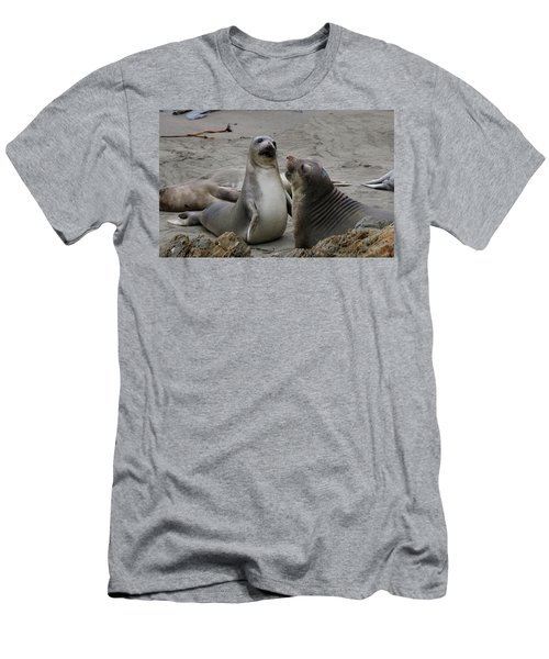 Sparring Seals  Men's T-Shirt (Athletic Fit)