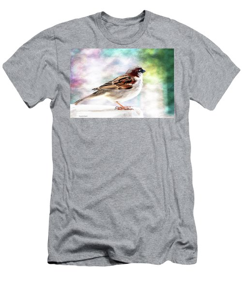 Sparrow Beauty 0004. Men's T-Shirt (Slim Fit) by Kevin Chippindall