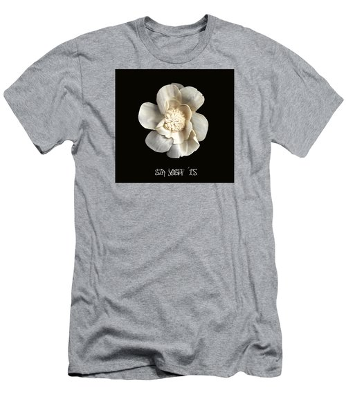 Special Magic Flower - For A Special Lady Men's T-Shirt (Slim Fit) by Sir Josef - Social Critic -  Maha Art
