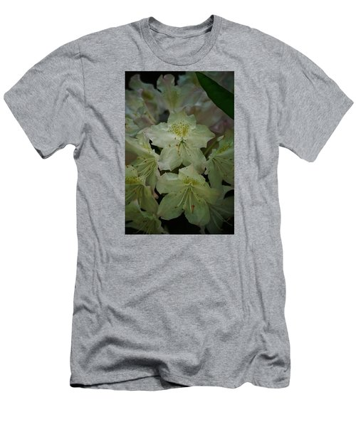 Men's T-Shirt (Slim Fit) featuring the photograph Speckled In Gold by Ramona Whiteaker