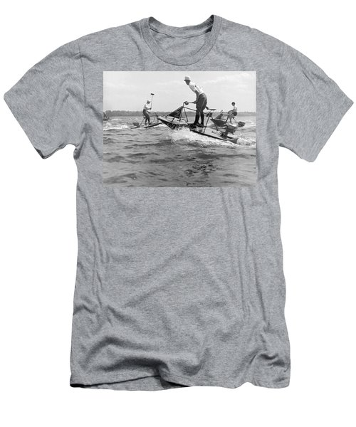 Speedboat Polo Enthusiasts Men's T-Shirt (Athletic Fit)