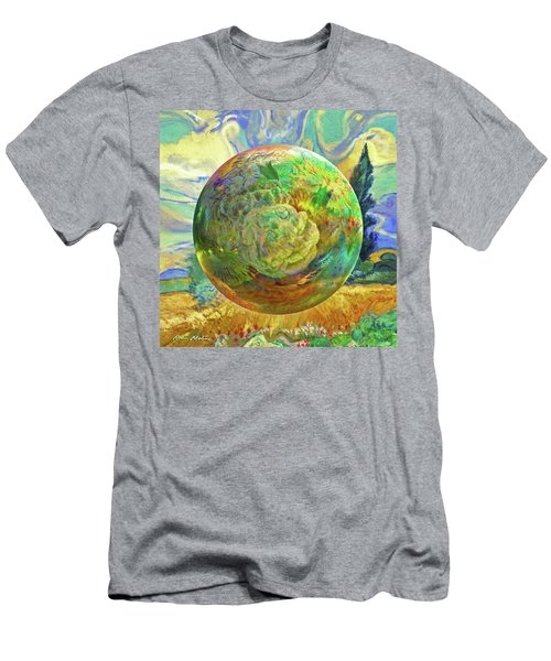 Sphering Of Succulents  Men's T-Shirt (Athletic Fit)