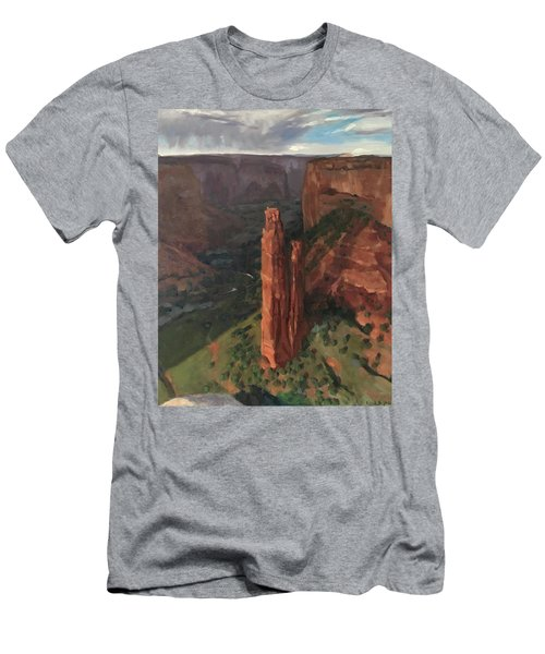 Spider Rock, Canyon De Chelly Men's T-Shirt (Athletic Fit)