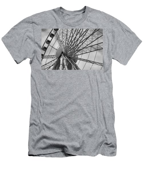 Spining Wheel  Men's T-Shirt (Athletic Fit)