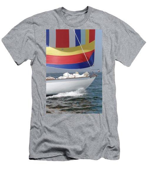 Spinnaker Run Men's T-Shirt (Athletic Fit)