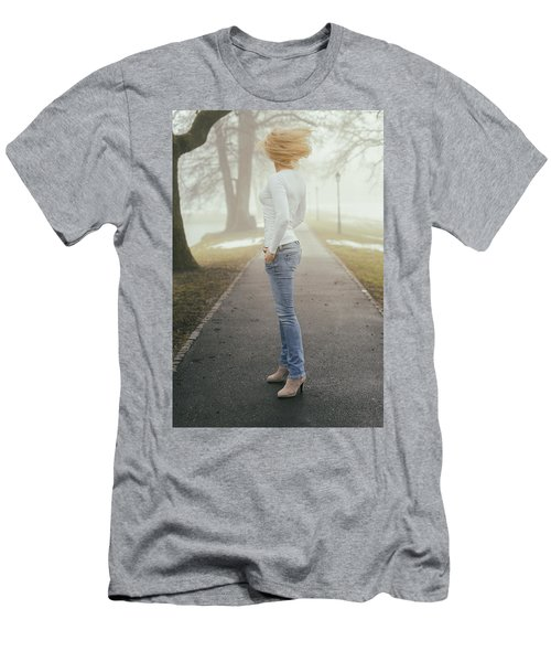 Spinning Men's T-Shirt (Athletic Fit)