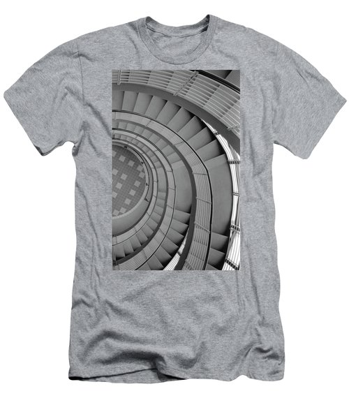 Spiraling Down  Men's T-Shirt (Slim Fit) by Tara Lynn