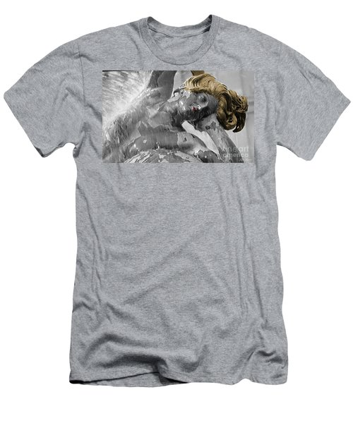 Men's T-Shirt (Slim Fit) featuring the photograph Spirit Of Water by Lyric Lucas