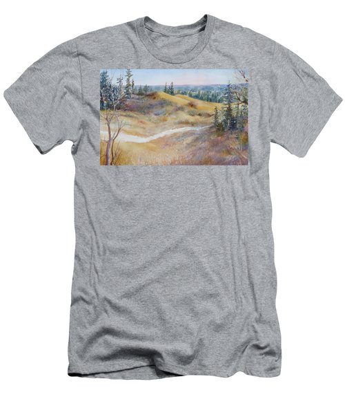 Spirit Sands Men's T-Shirt (Slim Fit) by Ruth Kamenev