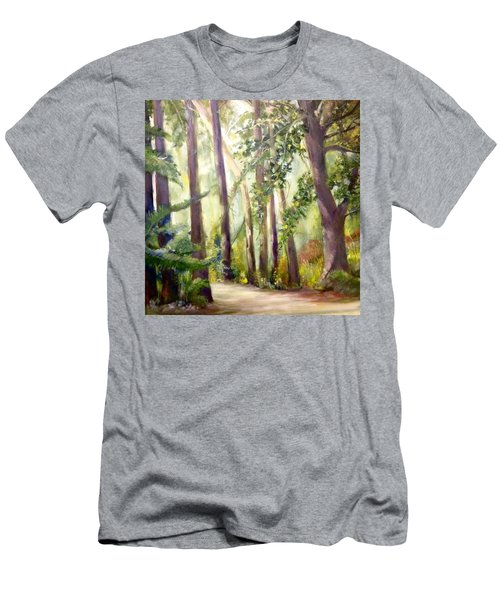 Spirt Of The Green Trees Men's T-Shirt (Athletic Fit)