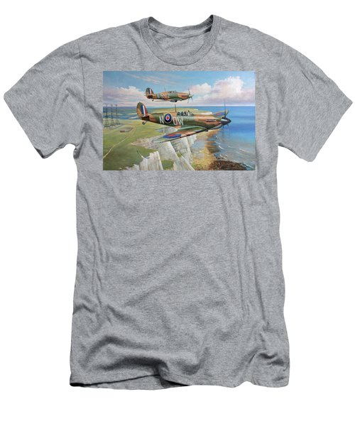 Spitfire And Hurricane 1940 Men's T-Shirt (Athletic Fit)