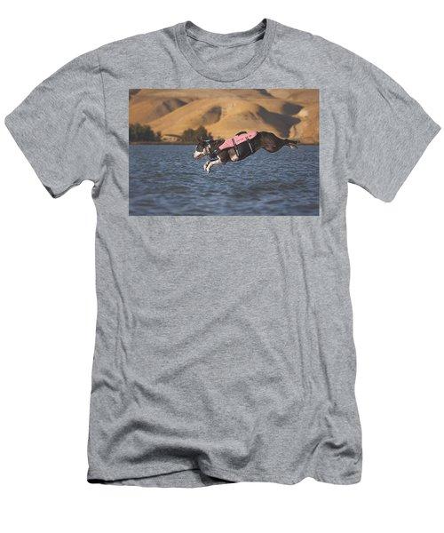 Splash In 3...2...1.... Men's T-Shirt (Athletic Fit)