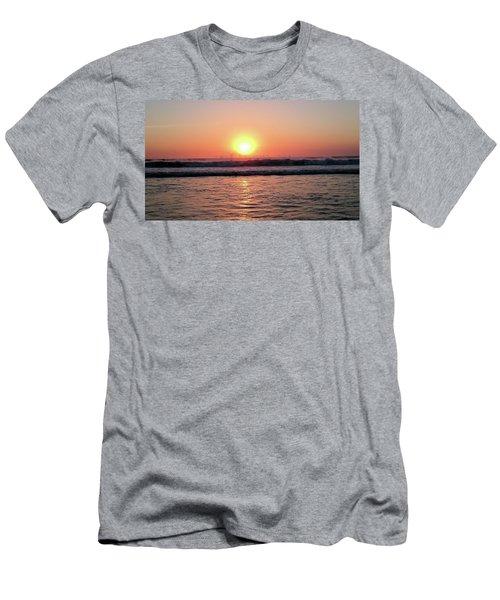 Splashing Men's T-Shirt (Slim Fit) by Beto Machado