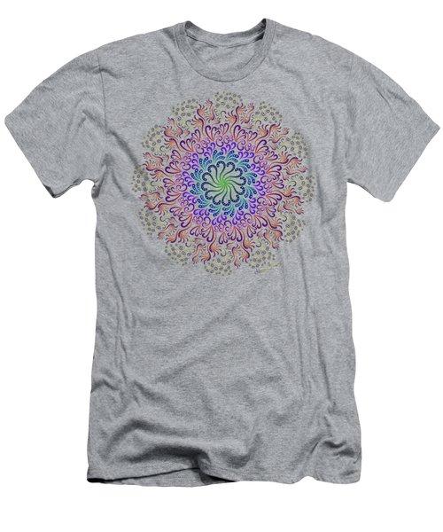 Splendid Spotted Swirls Men's T-Shirt (Athletic Fit)
