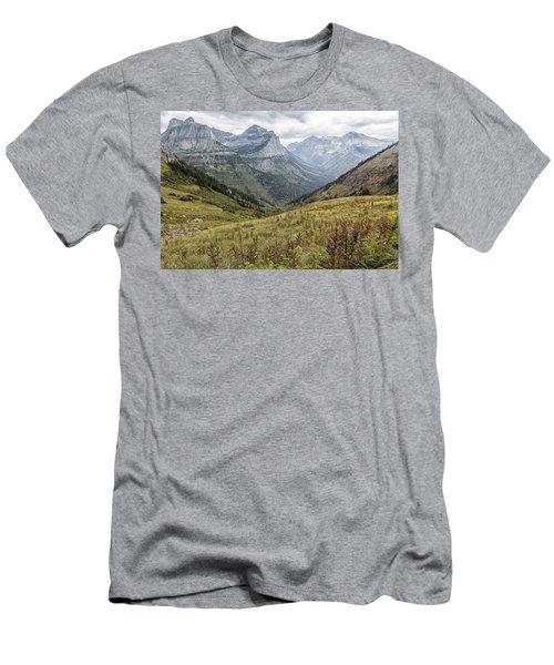 Splendor From Highline Trail - Glacier Men's T-Shirt (Athletic Fit)