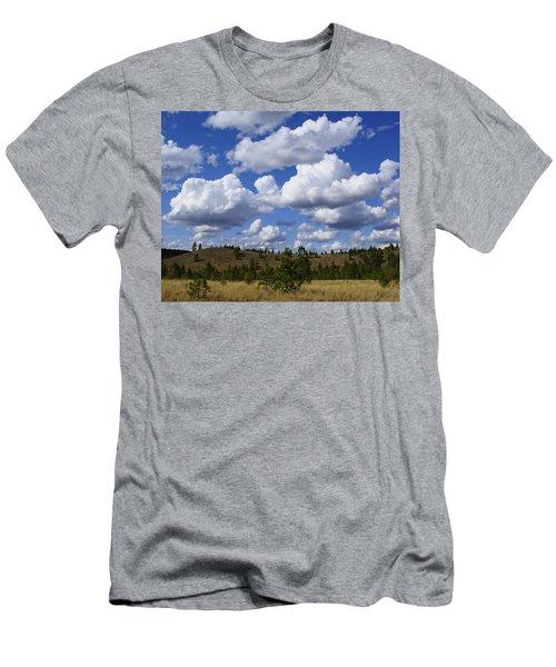 Spokane Cloudscape Men's T-Shirt (Athletic Fit)