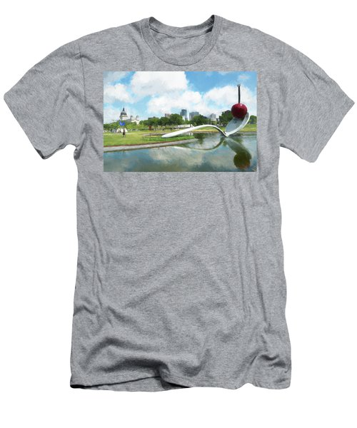 Spoon And Cherry Men's T-Shirt (Athletic Fit)