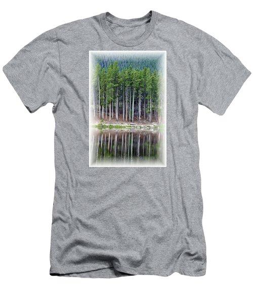 Sprague Lake 03 Men's T-Shirt (Slim Fit) by Pamela Critchlow