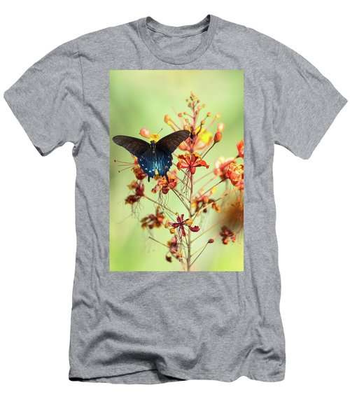 Men's T-Shirt (Athletic Fit) featuring the photograph Spread Your Wings At Dawn  by Saija Lehtonen