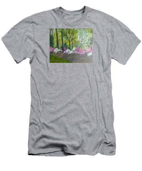 Spring Along Tega Cay Drive Men's T-Shirt (Athletic Fit)