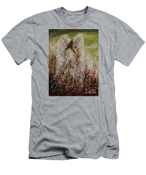 Spring Angel Men's T-Shirt (Athletic Fit)
