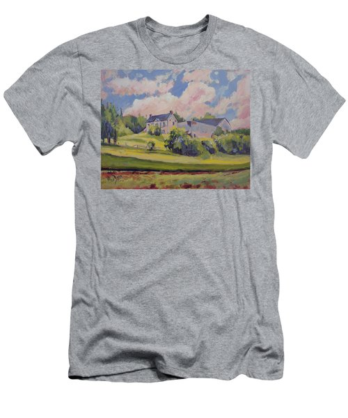 Spring At The Hoeve Zonneberg Maastricht Men's T-Shirt (Slim Fit) by Nop Briex