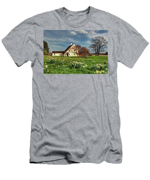 Spring At The Paine House Men's T-Shirt (Athletic Fit)
