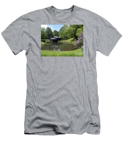 Spring Comes To Mabry Mill Men's T-Shirt (Athletic Fit)