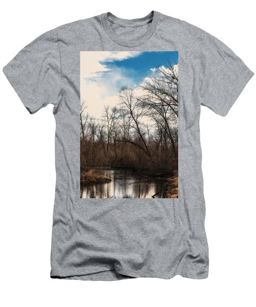 Men's T-Shirt (Slim Fit) featuring the photograph Spring Day by Edward Peterson