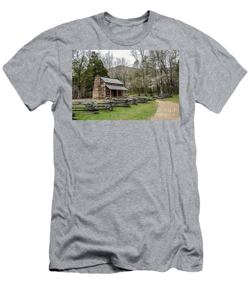 Spring For The Settlers Men's T-Shirt (Slim Fit) by Debbie Green