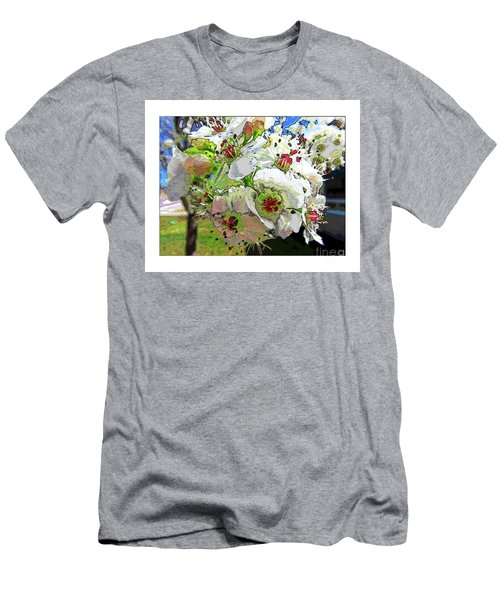 Spring Has Sprung Men's T-Shirt (Slim Fit) by Deborah Nakano