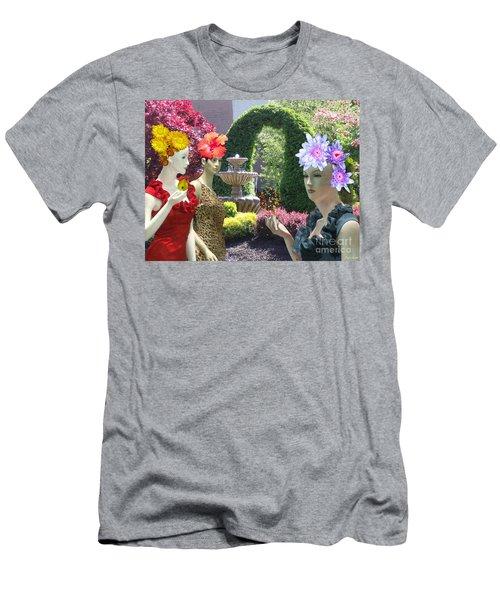 Spring In Bloom Men's T-Shirt (Slim Fit) by Lyric Lucas