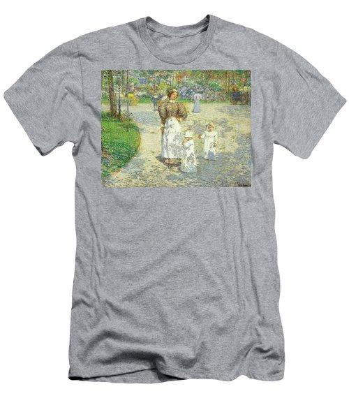 Spring In Central Park Men's T-Shirt (Athletic Fit)