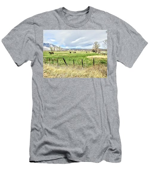 Spring In The Valley Men's T-Shirt (Athletic Fit)