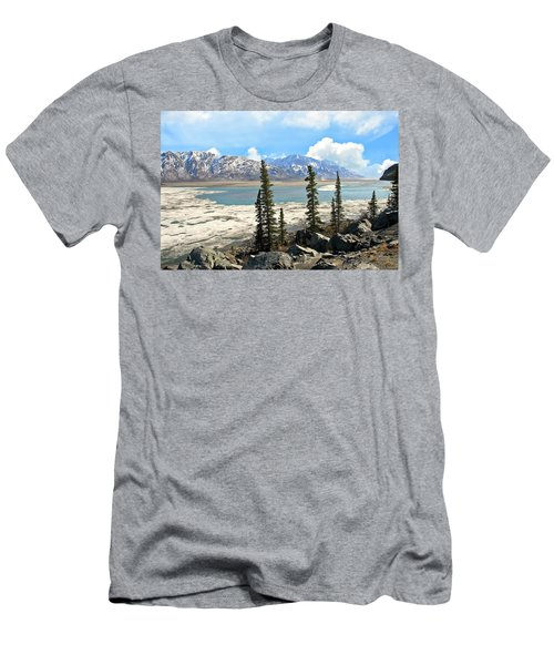 Spring In The Wrangell Mountains Men's T-Shirt (Athletic Fit)
