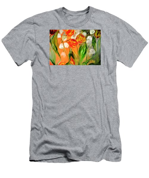 Spring Mood Men's T-Shirt (Slim Fit) by Evelina Popilian