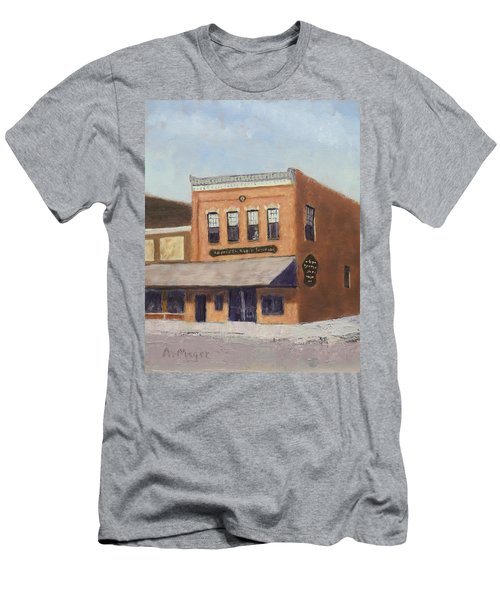 Spring Morning Downtown Men's T-Shirt (Athletic Fit)