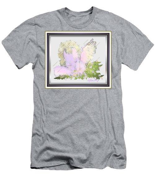 Spring Shower Slumber Men's T-Shirt (Athletic Fit)
