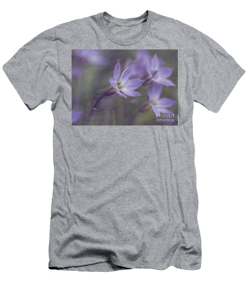 Spring Starflower Men's T-Shirt (Slim Fit) by Eva Lechner