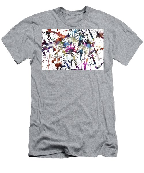 Men's T-Shirt (Athletic Fit) featuring the digital art Spring Time Splat by Margie Chapman