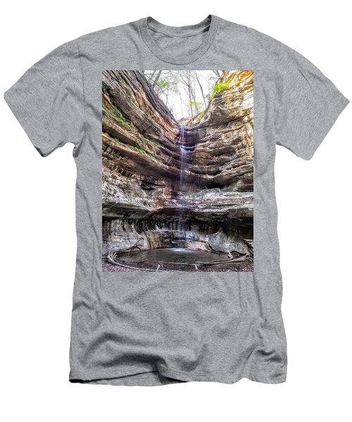 Spring Trickling In Men's T-Shirt (Athletic Fit)