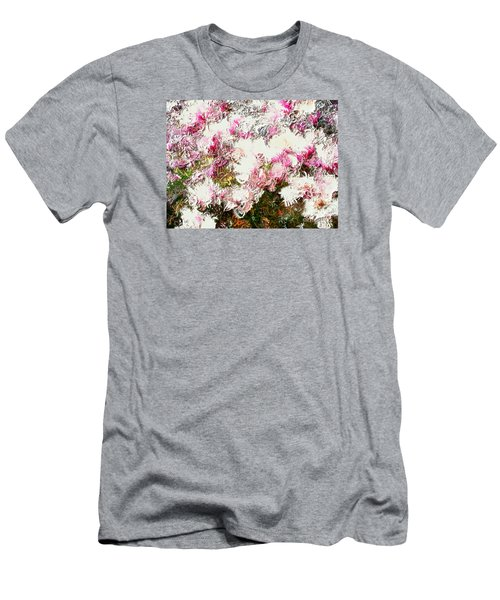 Spring Tulip Tree Men's T-Shirt (Athletic Fit)