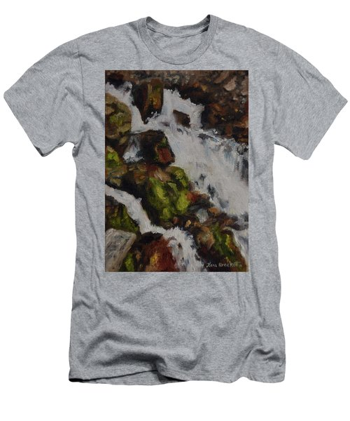 Springs Close Up Men's T-Shirt (Athletic Fit)
