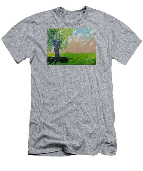 Springtime Willow Men's T-Shirt (Athletic Fit)