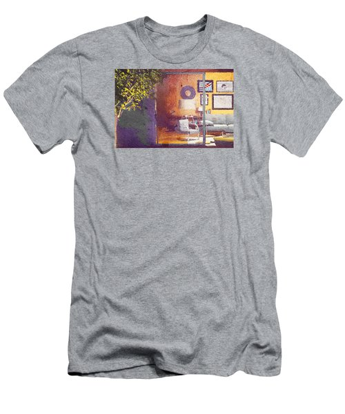 Spying Your Room Men's T-Shirt (Slim Fit) by Andrea Barbieri