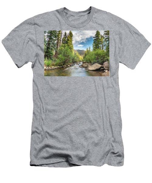 Squaw Creek, Colorado Men's T-Shirt (Athletic Fit)