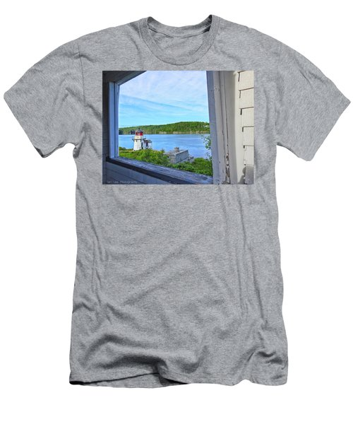 Squirrel Point View From The Deck Men's T-Shirt (Athletic Fit)