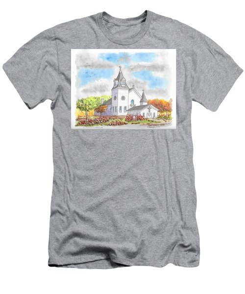 St. Boniface Catholic Church, Walhalla, North Dakota Men's T-Shirt (Athletic Fit)